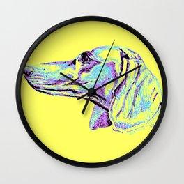 Dackel-Pop Wall Clock