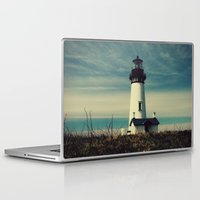 lighthouse Laptop & iPad Skins featuring Lighthouse by Yellowstone Photo Studio