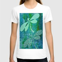 dragonfly T-shirts featuring Dragonfly  by Saundra Myles