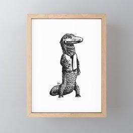 Investigator Framed Mini Art Print