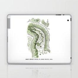 Great Serpent Mound Laptop & iPad Skin
