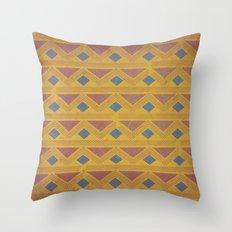 King of the Mountain Cometh Throw Pillow