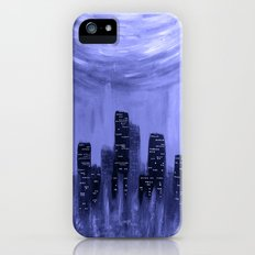 City of Fire ~ Blue  iPhone (5, 5s) Slim Case