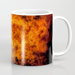 Burning Fire Coffee Mug