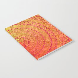 Aztec Flower Mandala Notebook