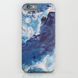 Restless Waters Blue iPhone Case
