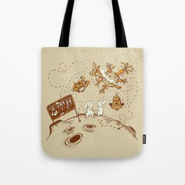 Three Step Plan Tote Bag