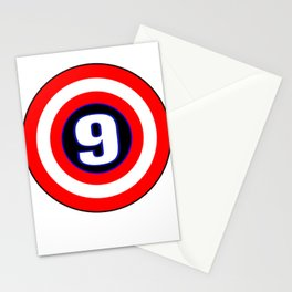 Captain 9 Year Old Boy 9th Birthday Gift product Stationery Cards
