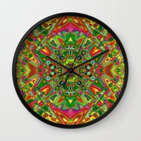 persian Wall Clocks featuring Persian 3 by Glanoramay