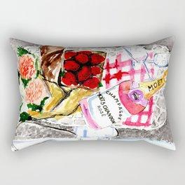 Picnic in Paris Rectangular Pillow