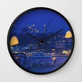 Hagia Sophia in Istanbul, Turkey Wall Clock