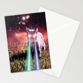 Mega Space Cat Rising Stationery Cards