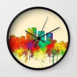 Louisville, Kentucky Skyline - SG Wall Clock