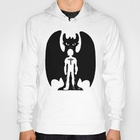 hiccup Hoodies featuring Heart of a Chief Soul of a Dragon by Chouly-Shop