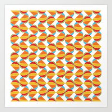 Pattern Repeat Art Print