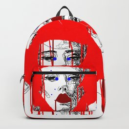 Red people Backpack