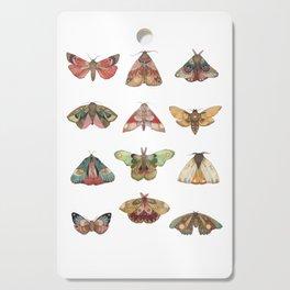 Collector: Moths // Jess Polanshek Cutting Board