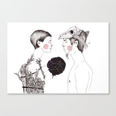 Ella Canvas Print