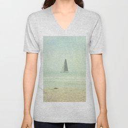 Sail Away - Newport Beach California Unisex V-Neck