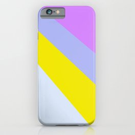 Abstract Minimal Color - Provence - Lavender at sunset iPhone Case