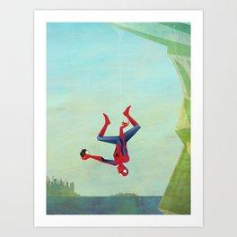 Superior Selfie Art Print