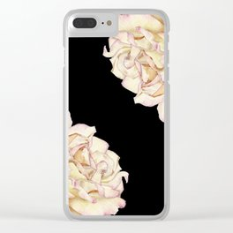 Roses - Lights the Dark Clear iPhone Case