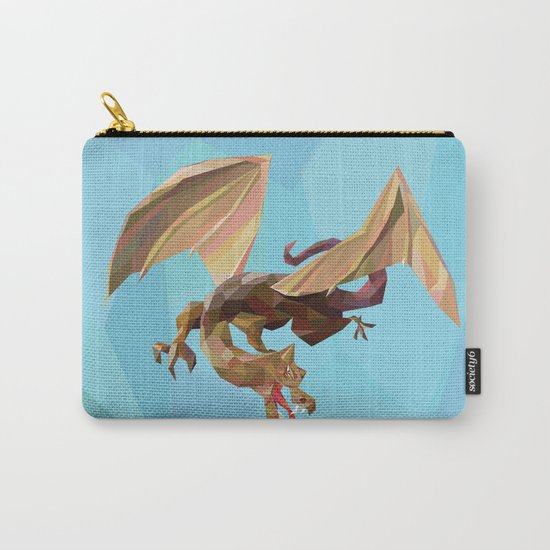 Against the Dragon Carry-All Pouch