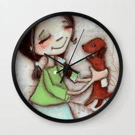 OK - by Diane Duda Wall Clock