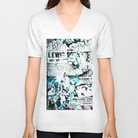posters V-neck T-shirts featuring posters by Renee Ansell