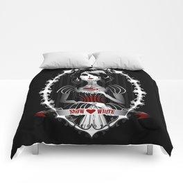 Gothic Snow White Comforters