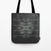 ship Tote Bags featuring ship by K_REY_C