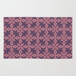 Spiked Punch Abstract Seamless Pattern Rug