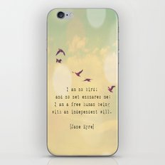 Independent Will iPhone & iPod Skin