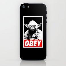 Obey Yoda - Star Wars iPhone & iPod Skin
