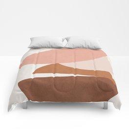 Abstract Stack II Comforters