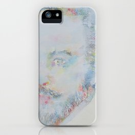 WILLIAM SHAKESPEARE - watercolor portrait iPhone Case