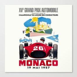 Classic Grand Prix Poster Canvas Print