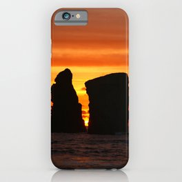 Islets at sunset iPhone Case
