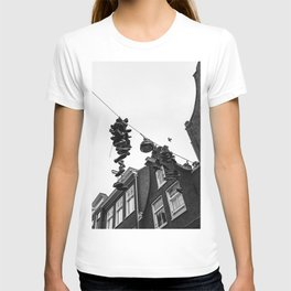 Hanging shoes in Amsterdam T-shirt