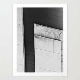 Abstract High Line Art Print