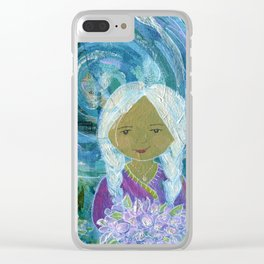 Night in the Garden Clear iPhone Case