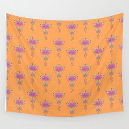 Symbol Art:  Lotus Magic Wall Tapestry