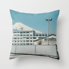 Mt Fuji Throw Pillow