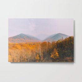 The Mountains Know the Fire is Coming Metal Print