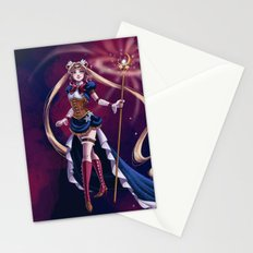 Steampunk Pretty Soldier Stationery Cards