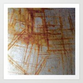 Rusty Boxy Art Print