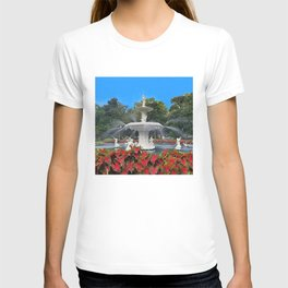Under the Oak Trees at Forsyth Park T-shirt