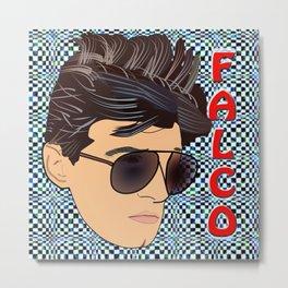 Pop Art Falco Metal Print