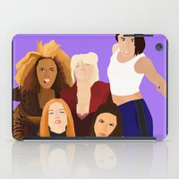girl power iPad Cases featuring Girl Power by Jara Montez