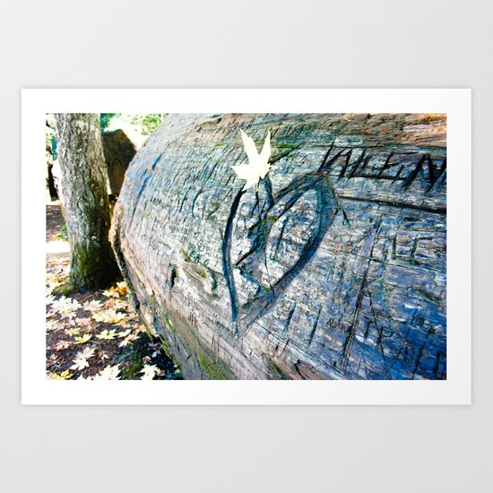 Fallin' In Love Art Print